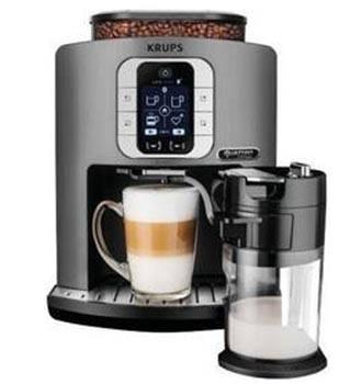 Recenze Krups EA860E10 Latte Smart