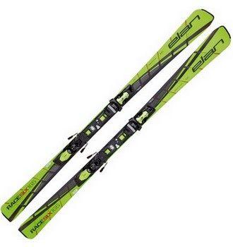 Ukázka produktu ve srovnání sjezdových lyží