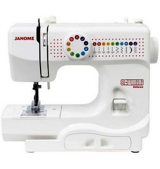 Ukázka produktu ve srovnání šicích strojů