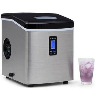 Ukázka produktu ve srovnání výrobníků ledu