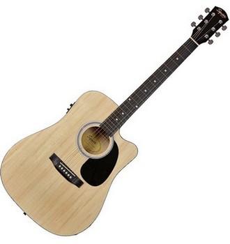 Ukázka produktu ve srovnání akustických kytar