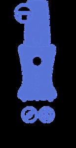 Vyobrazení smoothie makeru a jeho funkce