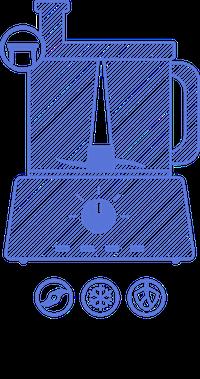 Stolní mixér a jeho funkce