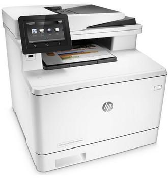 Recenze HP Color LaserJet M477fdw