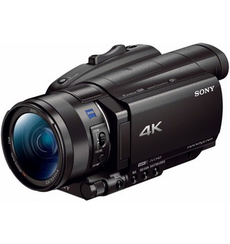 Recenze Sony FDR-AX700