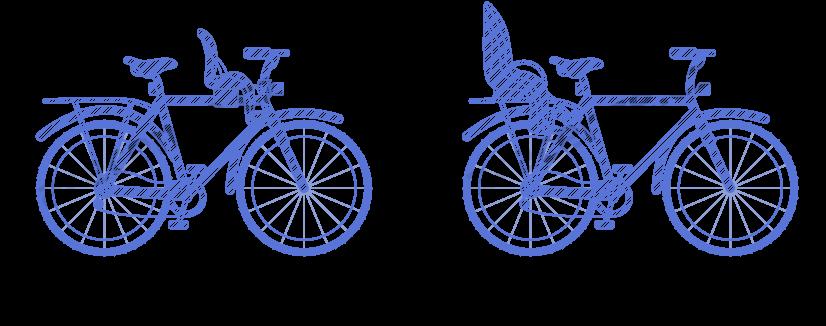 Nákres umístění cyklosedačky