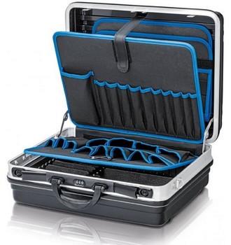 Ukázka produktu ve srovnání kufrů na nářadí