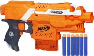 Ukázka produktu ve srovnání nerf zbraní