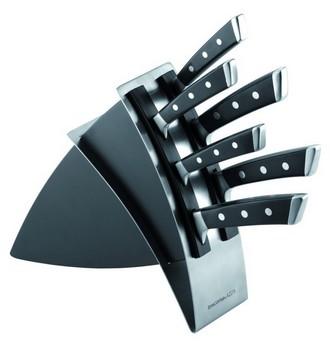 Ukázka produktu ve srovnání kuchyňských nožů