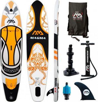 Ukázka produktu ve srovnání paddleboardů