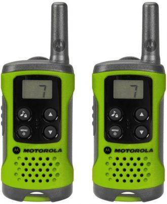 Ukázka produktu ve srovnání vysílaček