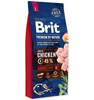 Recenze Brit Premium by Nature Adult L