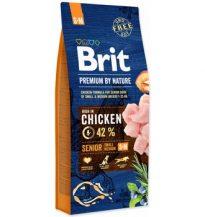 Recenze Brit Premium by Nature Senior S+M