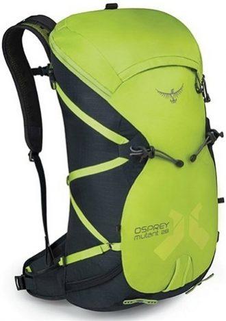 Ukázka produktu ve srovnání outdoorových batohů