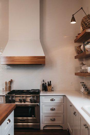 Zobrazení vybavení kuchyně