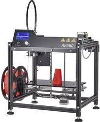 Ukázka produktu ve srovnání 3D tiskáren