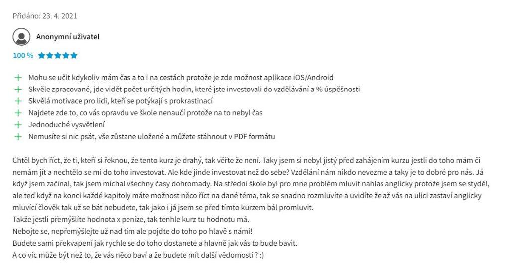 OnlineJazyky.cz recenze