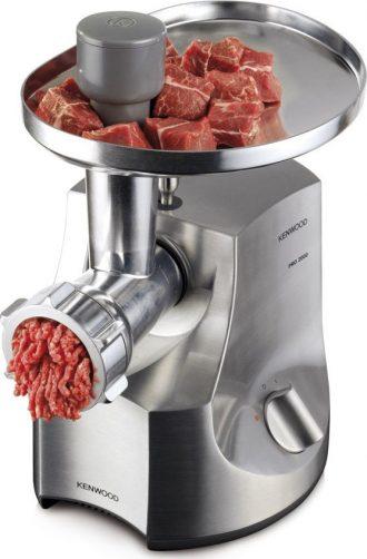Ukázka produktu ve srovnání mlýnků na maso