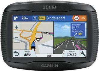 Ukázka produktu ve srovnání navigací na motorku
