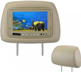 Ukázka produktu ve srovnání LCD do auta