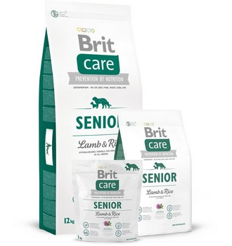 Recenze Brit Care Senior Lamb and Rice
