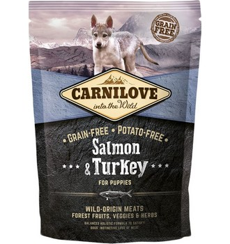 Recenze Carnilove Salmon and Turkey for Puppies