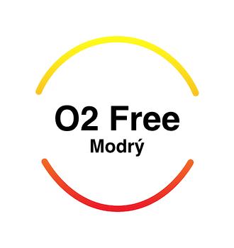 Recenze O2 Free Modrý