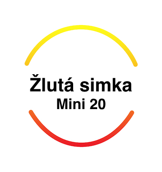 Recenze Žlutá simka Mini 20