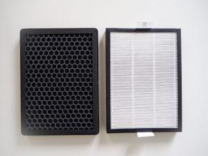 Odvlhčovač Noaton DF 4123 HEPA nabízí výběr mezi uhlíkovým a HEPA filtrem či kombinovanou variantou.