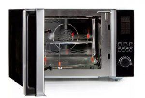 Zobrazení vnitřku mikrovlnné trouby trouby Domo DO 2342 CG