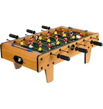 Ukázka produktu ve srovnání stolních fotbalů