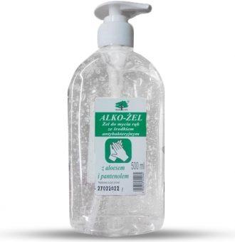 Ukázka produktu ve srovnání desinfekcí