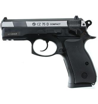 Ukázka produktu ve srovnání airsoftových pistolí