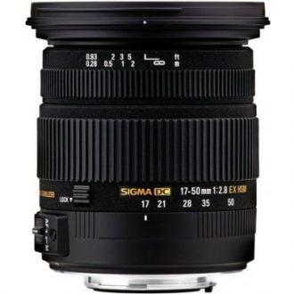 Recenze Sigma 17-50mm f/2,8 EX DC OS HSM Nikon