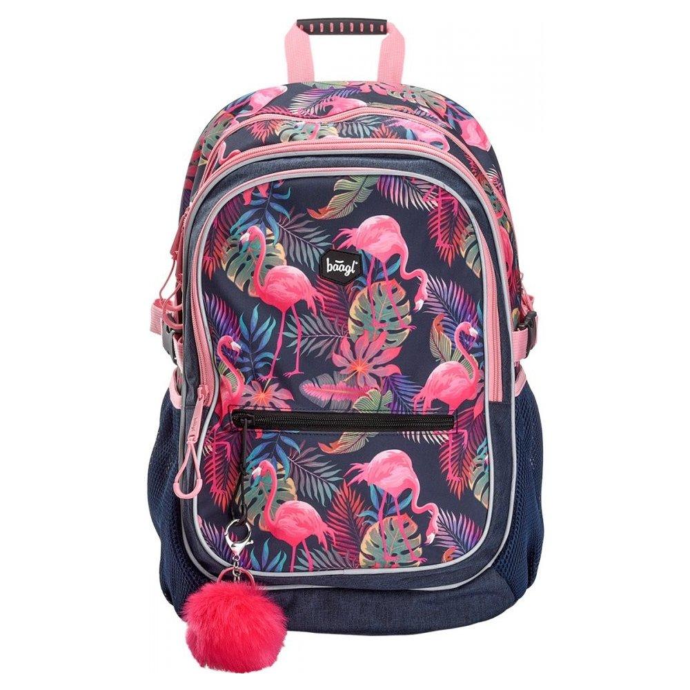 Recenze Baagl batoh Klasik Flamingo