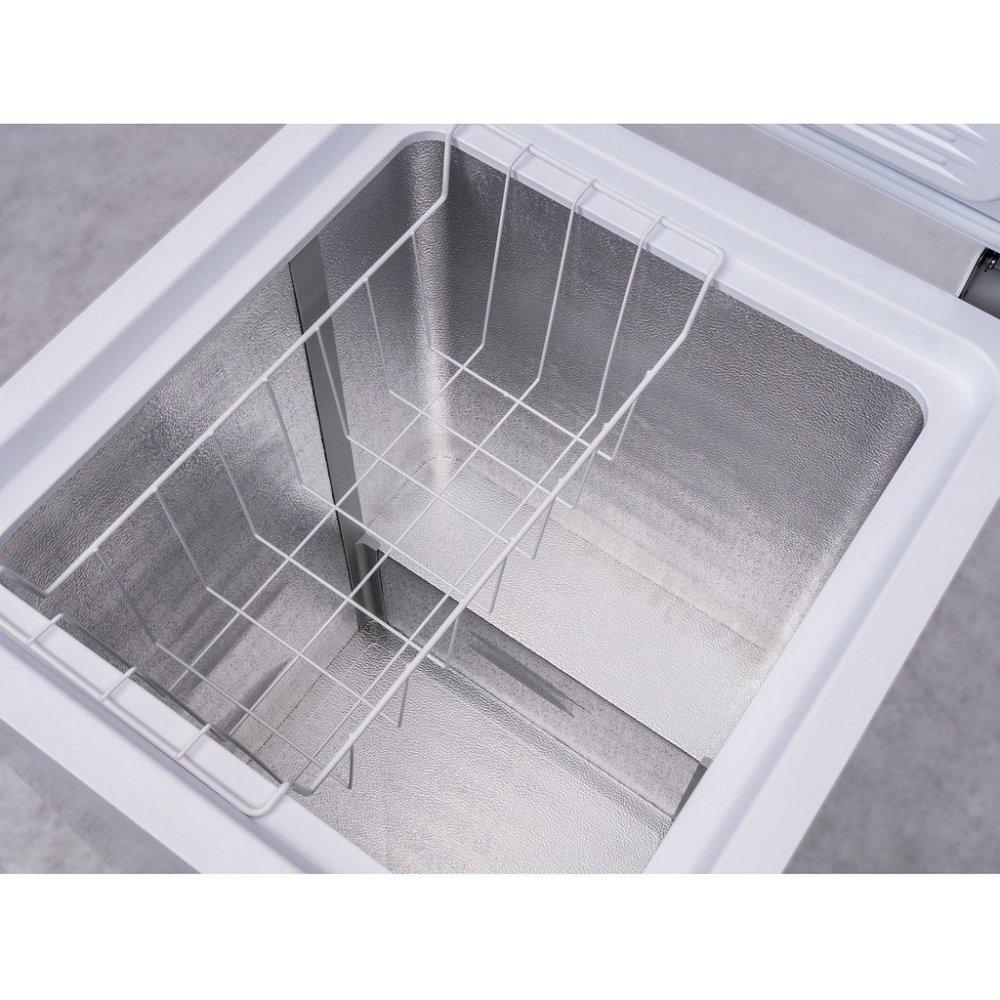 Vyobrazení vnitřního uspořádání mrazáku Whirlpool WH 1410 A+E