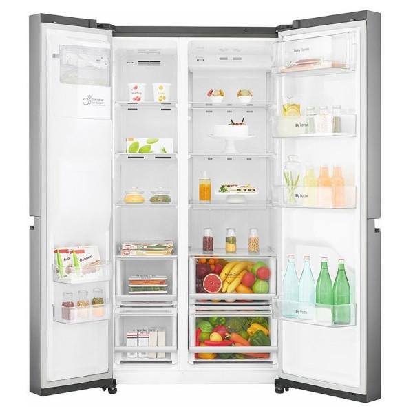 Vnitřní uspořádání lednice