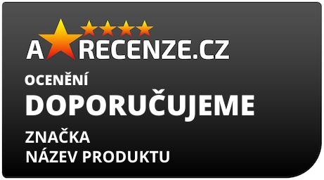 Štítek ocenění od Arecenze.cz