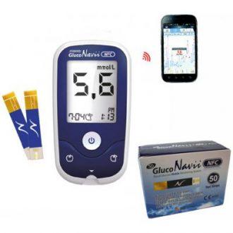 Recenze SD Diagnostics Glukometr SD-GlucoNavii NFC + 50 proužků