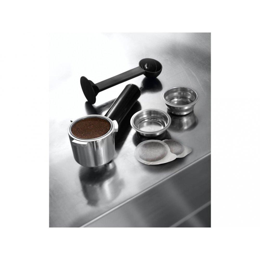 Páka, sítka, tamper a E.S.E. pody ke kávovaru De'Longhi EC 685.BK