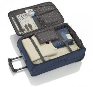 Vnitřek kufru