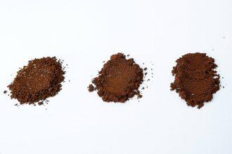 Vzorky namleté kávy
