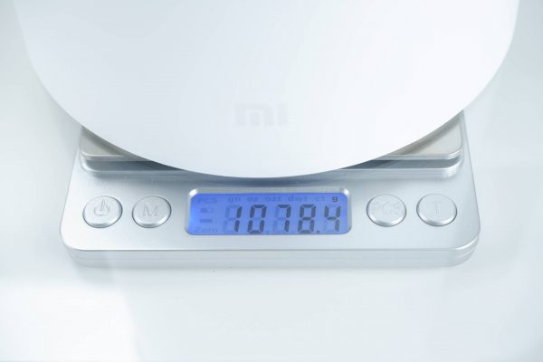 Hmotnost konvice