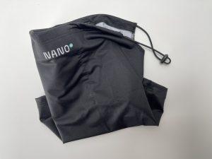 Znázornění designu nákrčníku NANO+