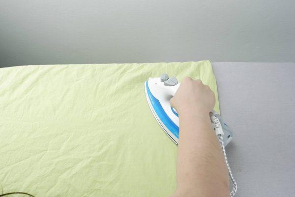 Žehlení plátna
