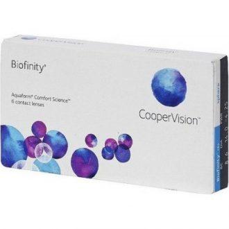 Recenze Cooper Vision Biofinity 6 čoček